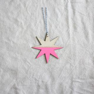 THE GREAT LAKES GOODS/ウォールチャーム〈STARDUST (Pink)〉