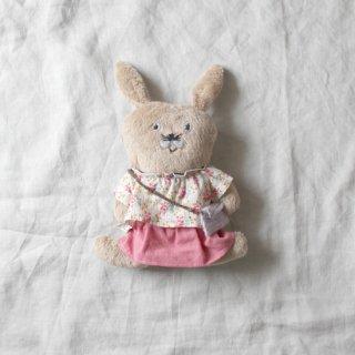 サリークシー/うさぎのぬいぐるみ(ピンクのスカート)