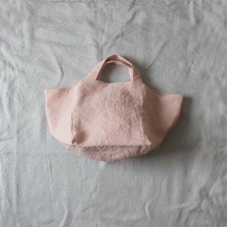 STRIPE/トートバッグ midium(linen pink)