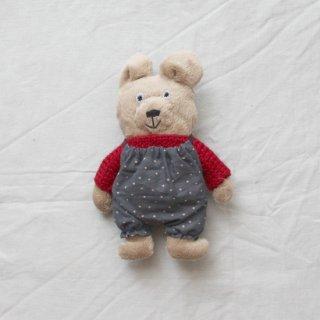 サリークシー/くまのぬいぐるみ(冬支度・赤のセーター)