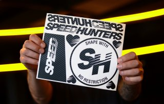 SPEEDHUNTERS CARBON STICKER SHEET