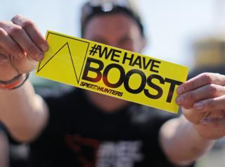 #WeHaveBoost Bumper Sticker