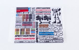RC Car Sticker Sheet