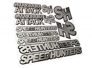 Silver Sticker Sheet