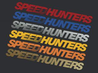 Speedhunters Windshield Sticker - Colors Collection
