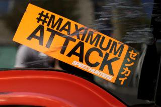 #MaximumAttack Bumper Sticker