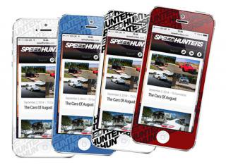 Speedhunters iPhone 5 Skin - Colors Collection