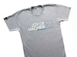 Heather Gray Joy Of Machine T-Shirt