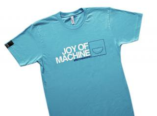 Turquoise Joy Of Machine T-Shirt
