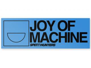 <img class='new_mark_img1' src='//img.shop-pro.jp/img/new/icons41.gif' style='border:none;display:inline;margin:0px;padding:0px;width:auto;' />Joy Of Machine Bumper Sticker