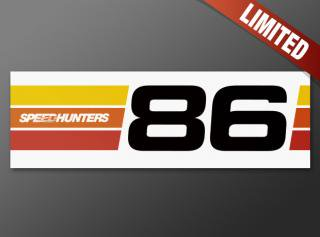 Speedhunters 86 Bumper Sticker