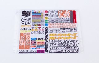 RC Car Sticker Sheet #2
