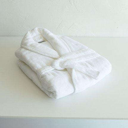 PERA バスローブ white L