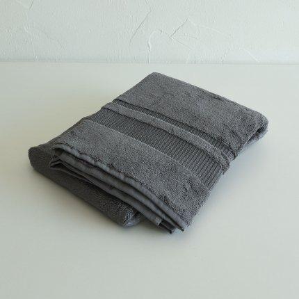 PERA バスタオル dark grey