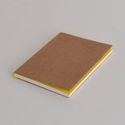 ノートブック(波状) ブラウン A6