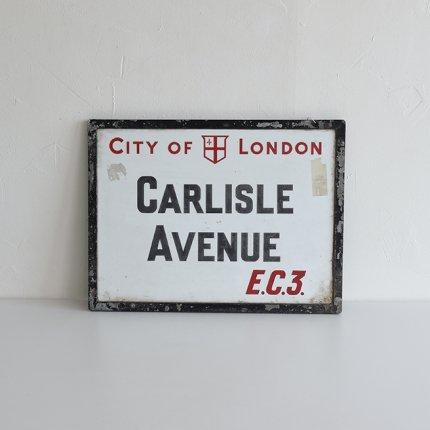 看板 CITY OF LONDON