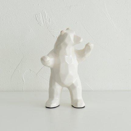 habitat 置き物 クマ
