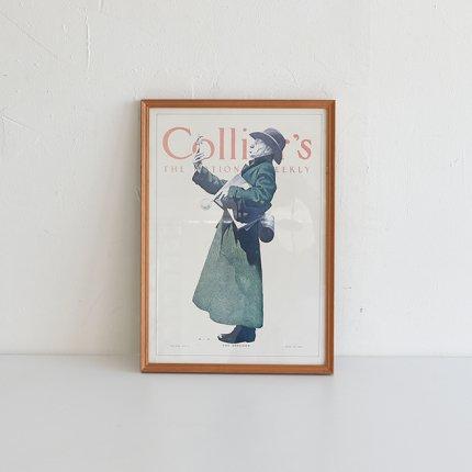 フレーム付ポスター Collier's