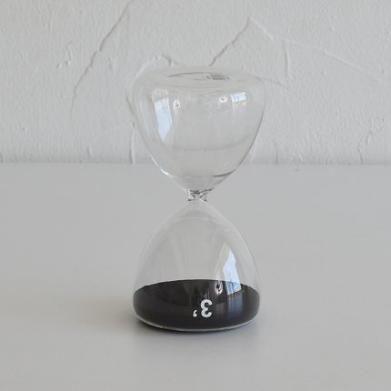 砂時計(3分) 黒