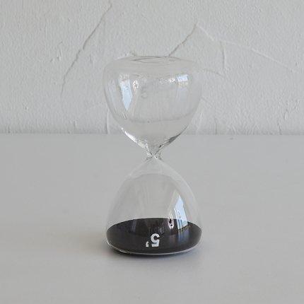 砂時計(5分) 黒