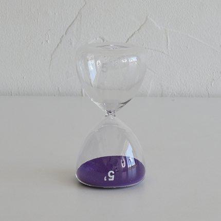 砂時計(5分) 紫