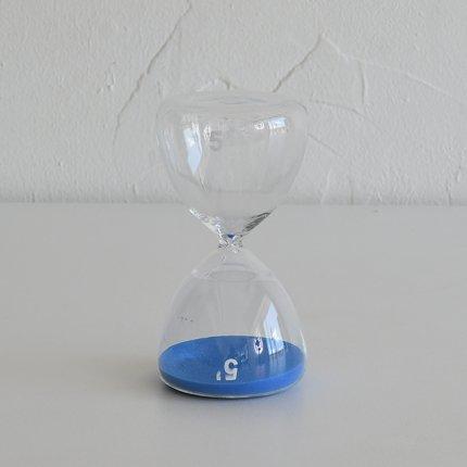 砂時計(5分) 青