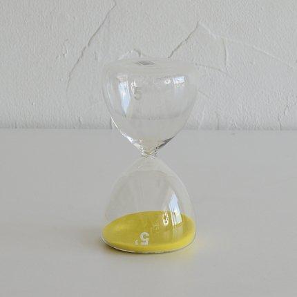 砂時計(5分) 黄色