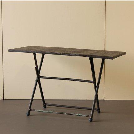 アイアンフォールディングテーブル