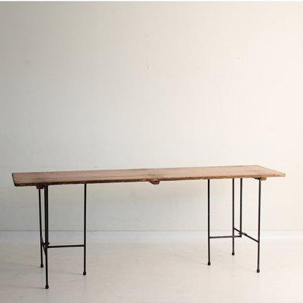 ロングテーブル アイアンレッグ