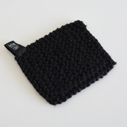 鍋つかみ/ブラック/iris hantverk