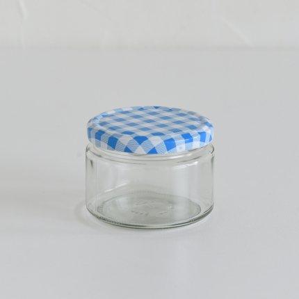 ガラスキャニスター/ドイツ/270ml/ブルー