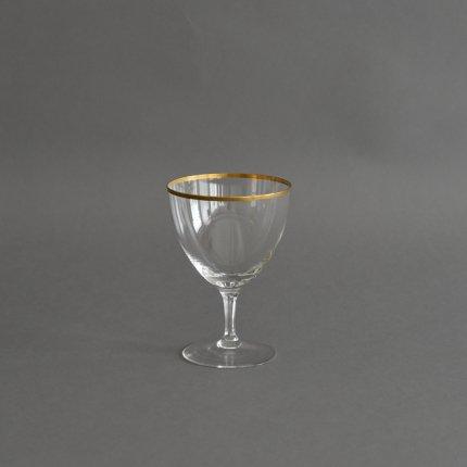 ゴールドリムワイングラス