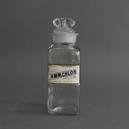 保存瓶 Apothecary jar/AMM.CHLOR.