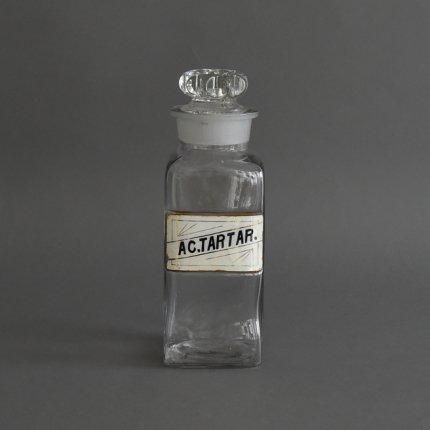保存瓶 Apothecary jar/AC.TARTAR.