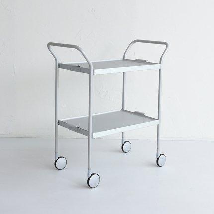 (2点御予約済み)KAYMET トローリー/Brushed Silver