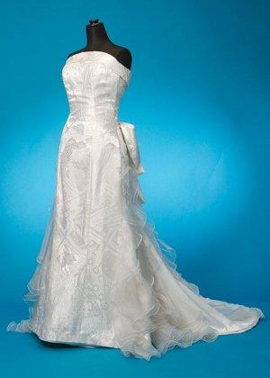 D95XX ウエディングドレス9号 打掛ドレス