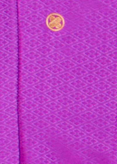 MP79-33紋付レンタル 裄78.5(身長185胴回り74-104) 紫系 ピンクパープル