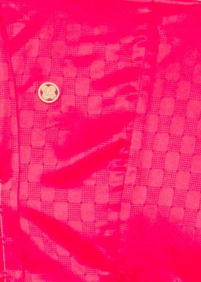 MP79-32紋付レンタル 裄79(身長185胴回り74-104) 赤系 ピンクがかったレッド