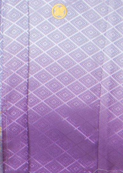 MP80-12紋付レンタル 裄80(身長190胴回り78-108) 紫系 濃淡ぼかし