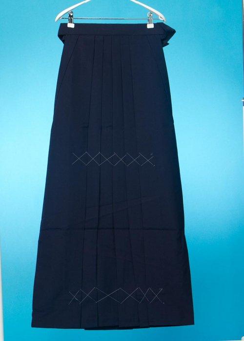 HA103-5トール女袴レンタル(身長170-175cm普通巾)紺 無地