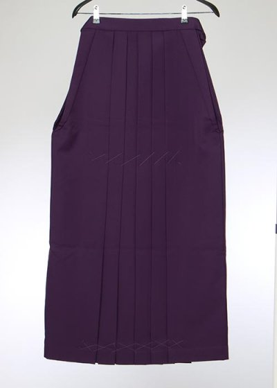 HA102-1トール女袴レンタル(身長170-175cm)紫パープル