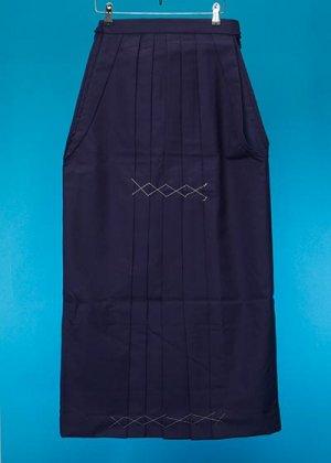 HA101-1超トール女袴レンタル 紐下101(身長168-173cm)紺 無地