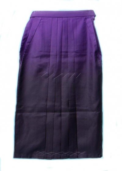 HA100-10W◆トール◆大ワイド女袴レンタル(身長166-170(ブーツは171-175 ヒップ90-120) 紫ぼかし