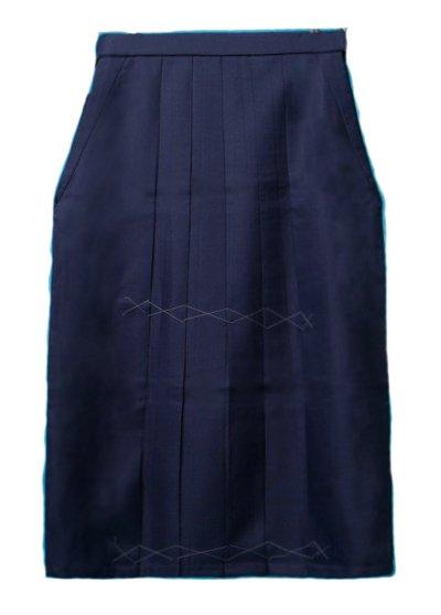 HA99-10Wトール超ワイド女袴レンタル(身長166-170(ブーツの場合170-175)ヒップ110-145)紺無地 大きいサイズ