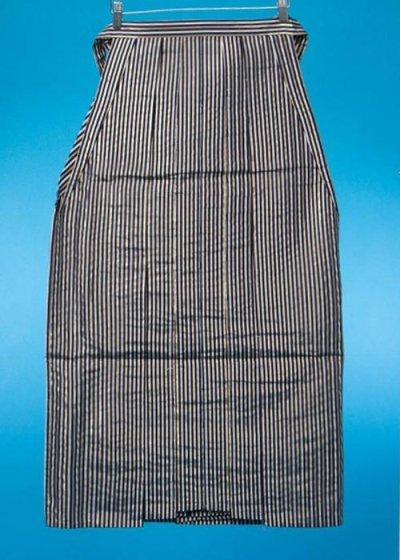 男袴レンタル(身長170-175cm前後)黒白金の縞 MH92-6