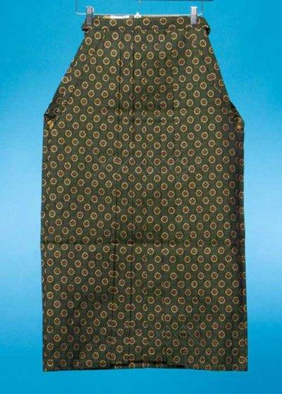 男袴レンタル(身長170-175cm前後)グリーン 金の丸紋 MH92-8