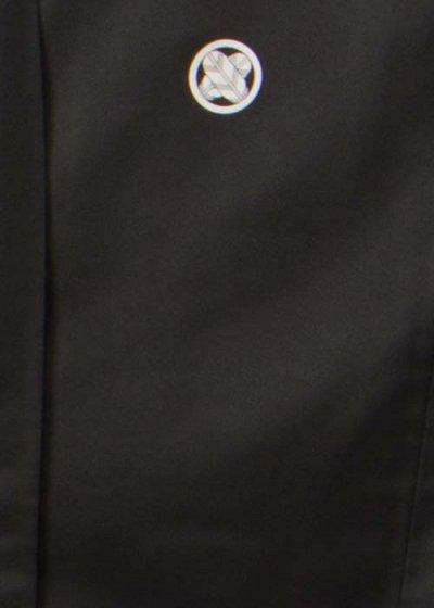MP82-5トールワイド黒紋付レンタル 裄82(身長180-198 胴回り84-114)  黒