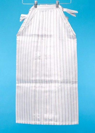 MH80-1男袴レンタル 身長145-150cm前後 白に銀の縦縞