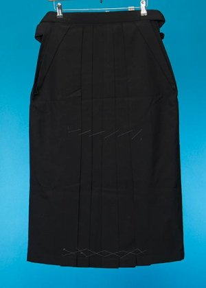 HA85-1女子袴レンタル(身長148-153cm前後)黒 無地