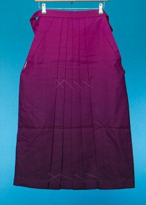HA85-2女子袴レンタル(身長148-153)赤紫系 ワイン濃淡ぼかし